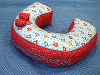 Большая именная буква-подушка