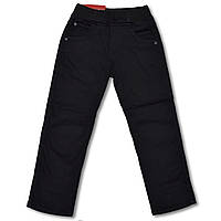 Утепленные брюки на флисе для мальчиков, 6 лет, фото 1