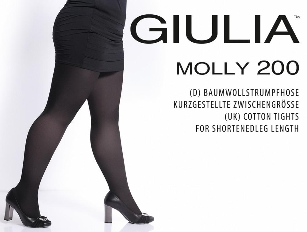 354c041dd769f Женские колготы больших размеров MOLLY 200 (хлопок) - Оптово-розничный  интернет-магазин