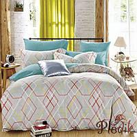 Двуспальное евро постельное белье сатин люкс ETRO 09901