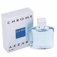 Мужская туалетная вода Azzaro Chrome for Men Eu de Toilette (EDT) 7ml, Mini (мини, миниатюра) , фото 1