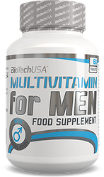 BioTech USA Multivitamin for Men 60t