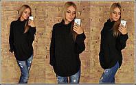 Свитер женский удлиненный,  пр-во Турция. 70%-акрил;30%-шерсть. ,4 цвета, фото реал ибич № 5799