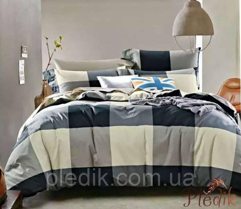 Двуспальное евро постельное белье сатин люкс ETRO 10045