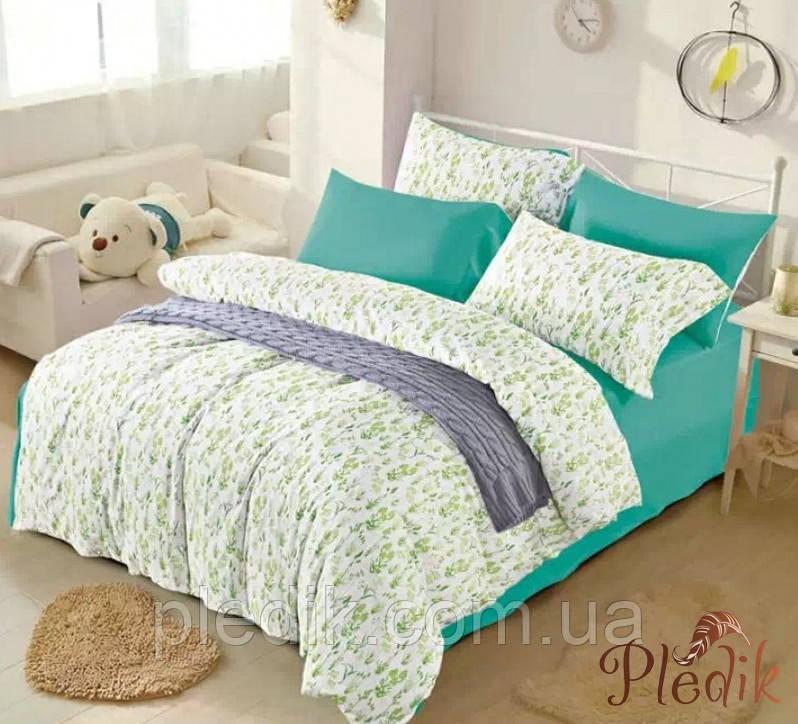 Двуспальное евро постельное белье сатин люкс ETRO 10100