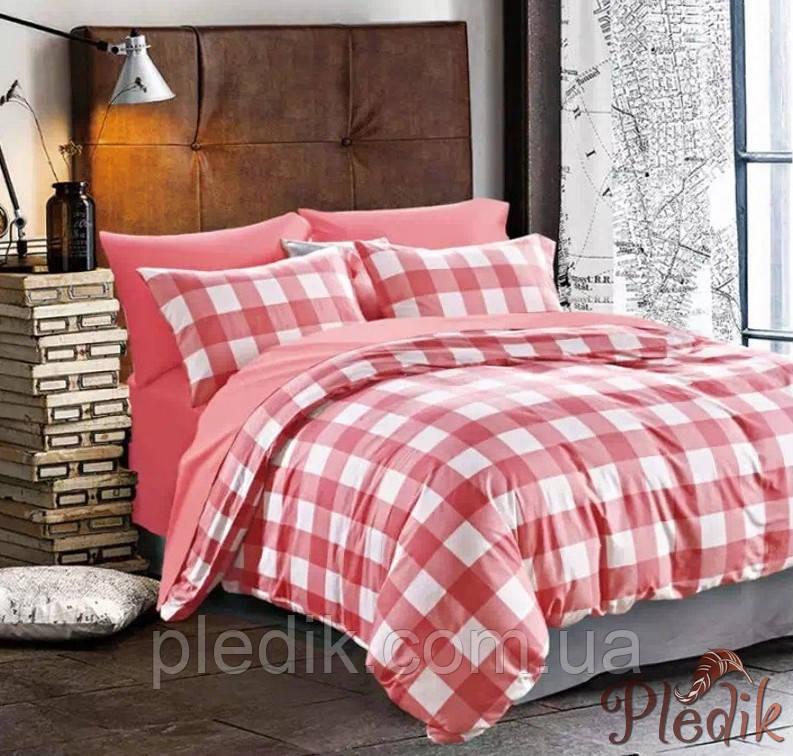 Двуспальное евро постельное белье сатин люкс ETRO 10148