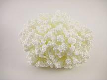 Пупыришки белые для рукоделия на белых ветках