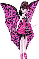 Кукла Дракулаура с платьем трансформером - Monster High Ghoul-to-Bat Transformation Draculaura Doll, фото 1