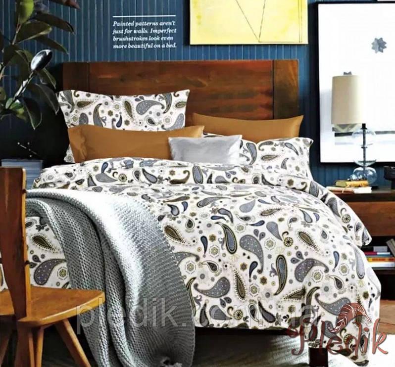 Двуспальное евро постельное белье сатин люкс ETRO 10257