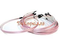 Ободок, 6мм (светло розовый)
