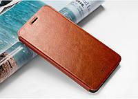 Чехол-книжка MOFI для Lenovo Vibe P1 коричневый