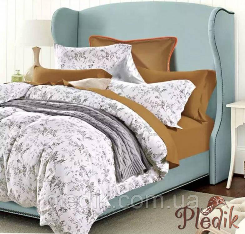 Двуспальное евро постельное белье сатин люкс ETRO 10307