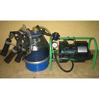 Доильный аппарат Импульс-Ротор от 1-5 коров (рез. Д.041) доильные стаканы пластмасса, ведро поликарбонат
