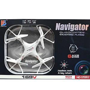 Квадрокоптер навігатор з камерою Navigator Quadcopter 6 Axis Gyro
