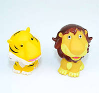 Игрушка пищалка Лев и Тигр