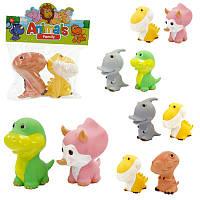 Для ванной набор игрушек Животные