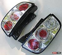 Nissan Micra - оптика задняя хром