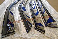 Дефлекторы окон (ветровики) COBRA-Tuning на ЗАЗ 1102 ТАВРИЯ широкие