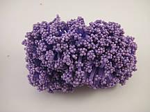 Пупыришки фиолетовые для рукоделия на фиолетовых ветках