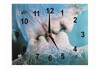 Часы настенные Поцелуй 20х25 см