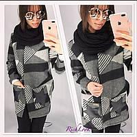 Женский стильный шарф-снуд (хомут) (4 цвета)