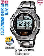 Оригинальные Часы Casio W-734D-1AVEF