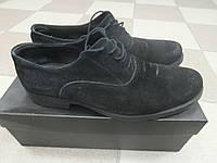 Мужские замшевые туфли Flnshoes, 43р.