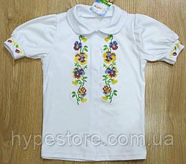 Вышиванка-блузка детская на девочку, Реплика
