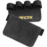 Накладки для подтягивания RDX Leather Black, фото 1