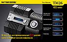 Nitecore TM26, 4000 люмен, 454 метров, 4x18650, OLED дисплей, фото 6