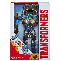 Игрушка Трансформер Флип-энд-Чэндж: Локдаун  Transformers Age of Extinction Flip and Change Lockdown Figure