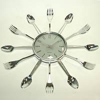 Настенные часы Вилки и Ложки металические