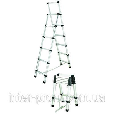Стремянка телескопическая 2 м (без чехла)