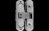 Петля дверная скрытая фиксированная 829-70х16 + регулируемая база 804-92х18 2D