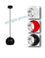 Подвесной led светильник Horoz 15W черный