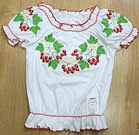 Красивая вышиванка-блузка детская на девочку