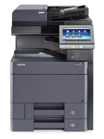 Офисный черно-белый МФУ Kyocera TASKalfa 6002i формата А3 – копир/ принтер/ полноцветный сканер.