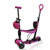 Самокат Ecoline ALFA розовый