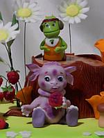 Детский торт на день рождения с персонажами из любимых мультфильмов