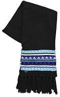 Приятный женский шарф ROXY FEEL THE BEAT 3606853702190 черный/принт