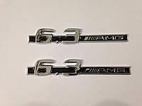 Эмблемы на крылья Mercedes 6.3 AMG