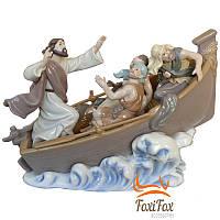 Фарфоровая статуэтка Лодка спасения