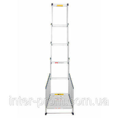 Лестница раздвижная 4.1 м (без чехла), фото 2