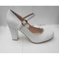 """Свадебные туфли """"S-л-680"""" 8 см Размер 37 38 39 40"""