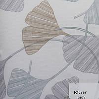 Рулонные шторы Одесса Ткань Клевер Серый