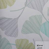 Рулонные шторы Одесса Ткань Клевер Зелёный