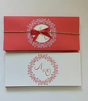 Свадебный пригласительный дизайн печать