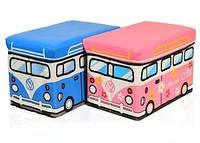Пуфик-ящика для игрушек «Веселый автобус»!!!
