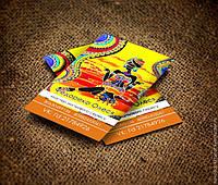 Печать дизайн изготовление визиток