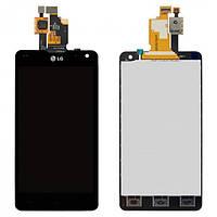 Модуль (дисплей с сенсором) LG F180L черный